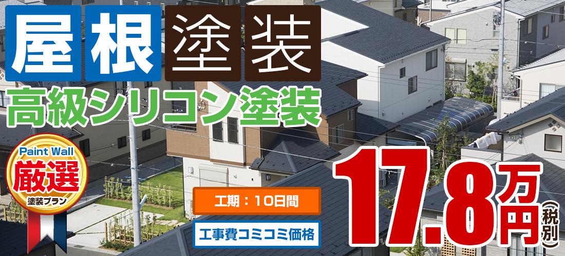 高級水系ナノシリコン塗装 17.8万円