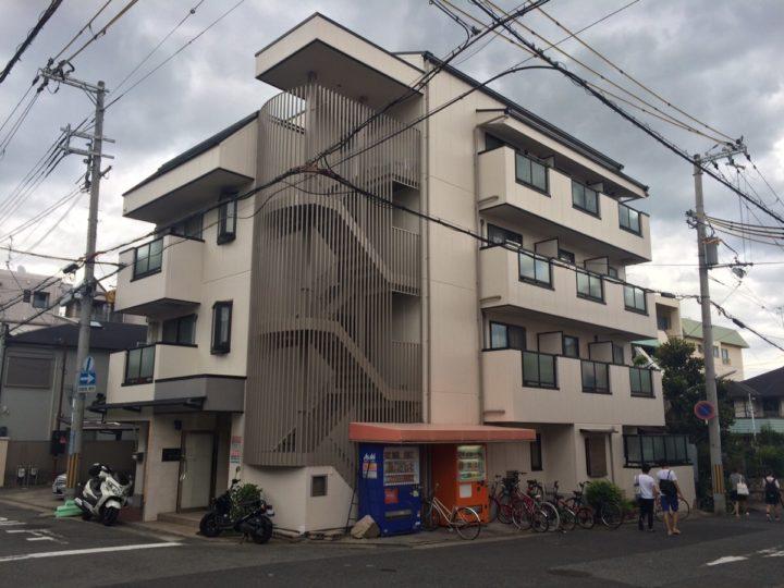 神戸市東灘区 集合住宅R 外壁塗装工事
