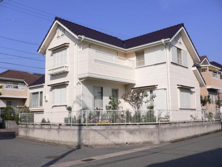 神戸市灘区N様邸の外壁屋根塗装工事//西宮・芦屋の外壁塗装・屋根塗装ならPaintWall