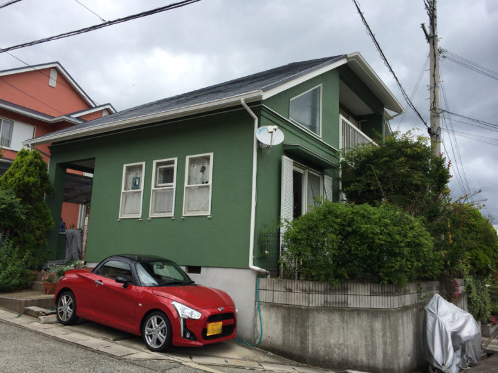 神戸市北区 B様邸 外壁塗装・屋根塗装工事