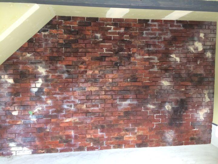 相生市デザインコンクリート塗装工事//西宮・芦屋の外壁塗装・屋根塗装ならPaintWall