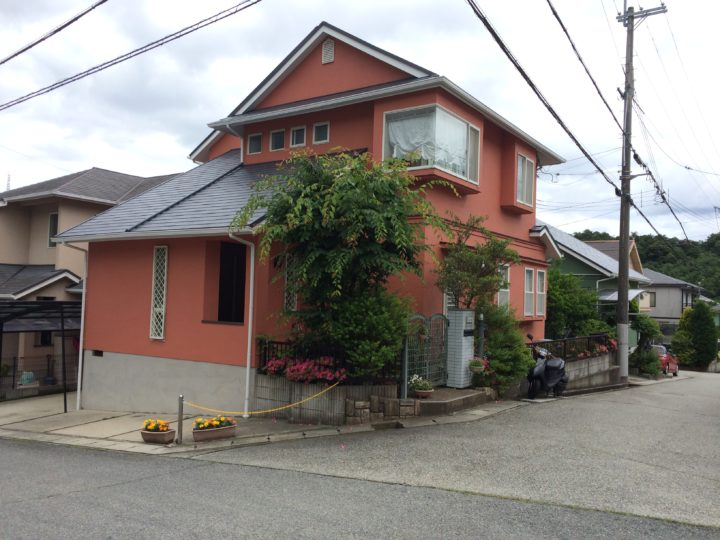 神戸市北区 A様邸 外壁塗装・屋根塗装工事