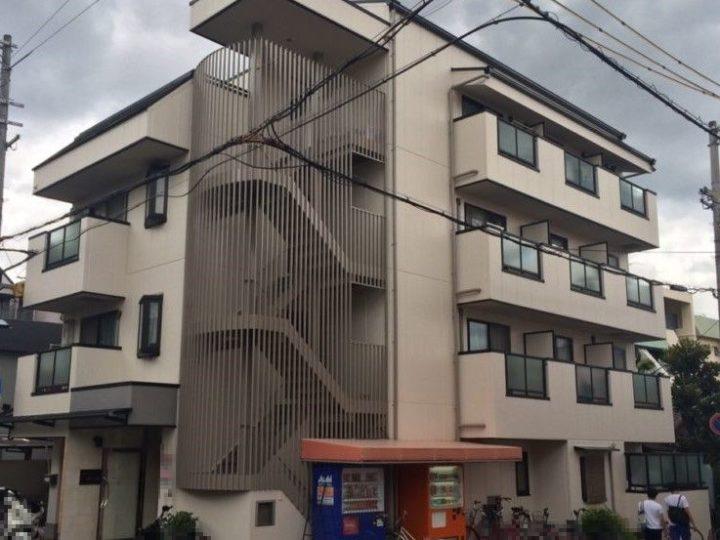 神戸市東灘区の集合住宅Rの外壁塗装工事//西宮・芦屋の外壁塗装・屋根塗装ならPaintWall