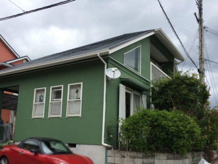 神戸北区N様邸の外壁屋根塗装工事//西宮・芦屋の外壁塗装・屋根塗装ならPaintWall
