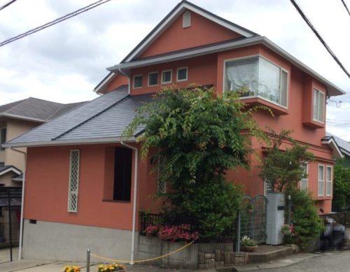 神戸市北区K様邸の外壁屋根塗装工事//西宮・芦屋の外壁塗装・屋根塗装ならPaintWall