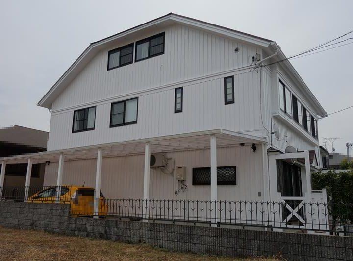 西宮K様邸の外壁屋根塗装工事//西宮・芦屋の外壁塗装・屋根塗装ならPaintWall