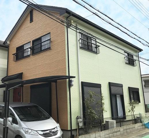 西宮T様邸の外壁塗装・屋根カバー工法工事//西宮・芦屋の外壁塗装・屋根塗装ならPaintWall