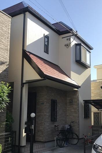 西宮市 N様邸 外壁塗装・屋根塗装工事