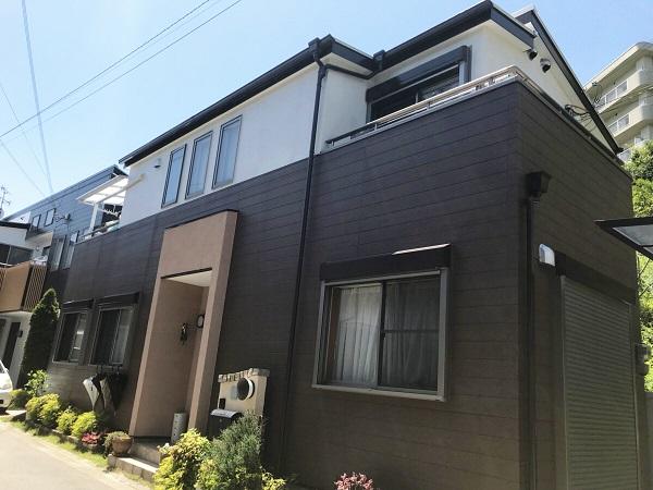 西宮M様邸の外壁屋根塗装工事//西宮・芦屋の外壁塗装・屋根塗装ならPaintWall