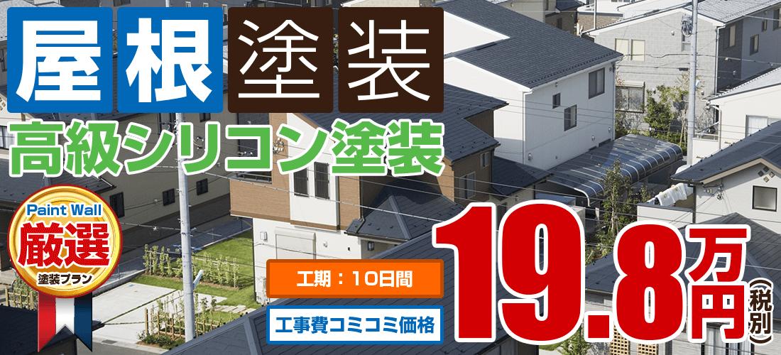 高級水系ナノシリコン塗装 19.8万円