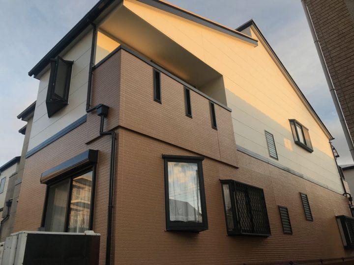 西宮Y様邸の外壁屋根塗装工事//西宮・芦屋の外壁塗装・屋根塗装ならPaintWall