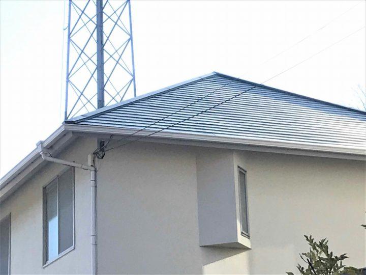 西宮J様邸の屋根倉庫塗装工事//西宮・芦屋の外壁塗装・屋根塗装ならPaintWall