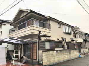 西宮 S様邸 外壁屋根塗装工事