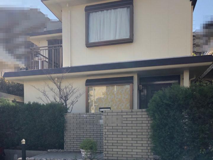 芦屋S様邸の外壁塗装工事//兵庫・西宮・芦屋の外壁塗装・屋根塗装ならPaintWall