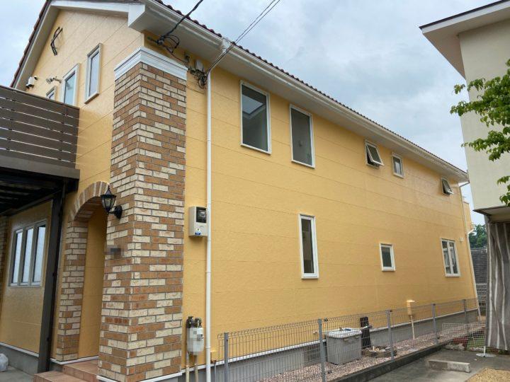 芦屋N様邸の外壁付帯塗装工事//兵庫・西宮・芦屋の外壁塗装・屋根塗装ならPaintWall