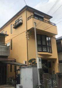 芦屋市W様邸の外壁・付帯塗装工事//兵庫・西宮・芦屋の外壁塗装・屋根塗装ならPaintWall