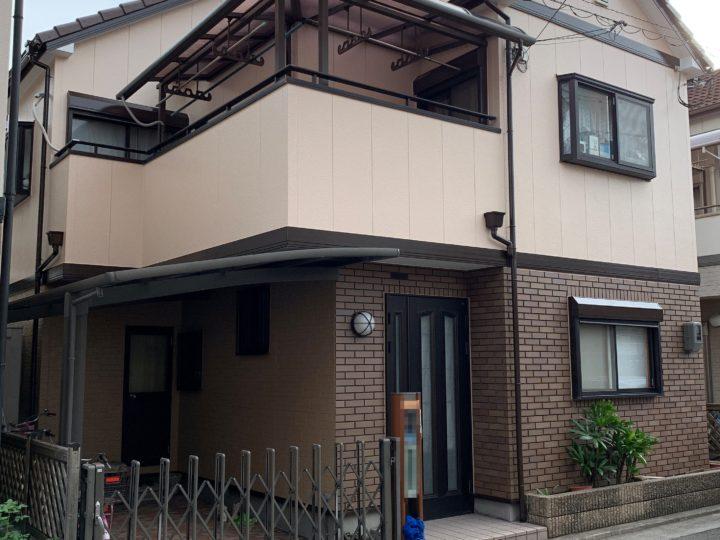 尼崎市M様邸の外壁屋根塗装工事//兵庫・西宮・芦屋の外壁塗装・屋根塗装ならPaintWall