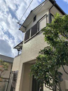 西宮市U様邸の外壁・屋根付帯塗装工事//兵庫・西宮・芦屋の外壁塗装・屋根塗装ならPaintWall