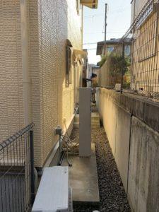 兵庫県、西宮市芦屋市の外壁屋根塗装ペイントウォールの施工事例。施工後写真