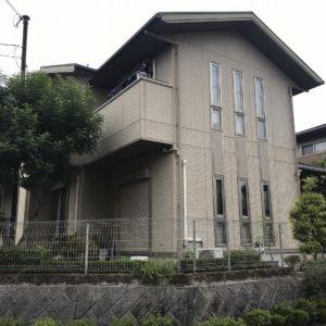 兵庫県、西宮市芦屋市の外壁屋根塗装ペイントウォールの施工事例。施工前写真