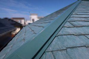 兵庫県、西宮市芦屋市の外壁屋根塗装ペイントウォールの屋根施工前写真