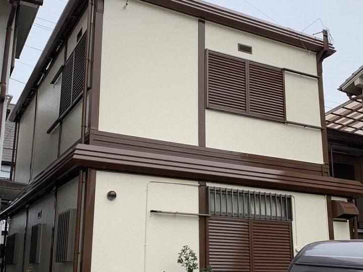 西宮市Y様邸の外壁・屋根付帯塗装工事//兵庫・西宮・芦屋の外壁塗装・屋根塗装ならPaintWall