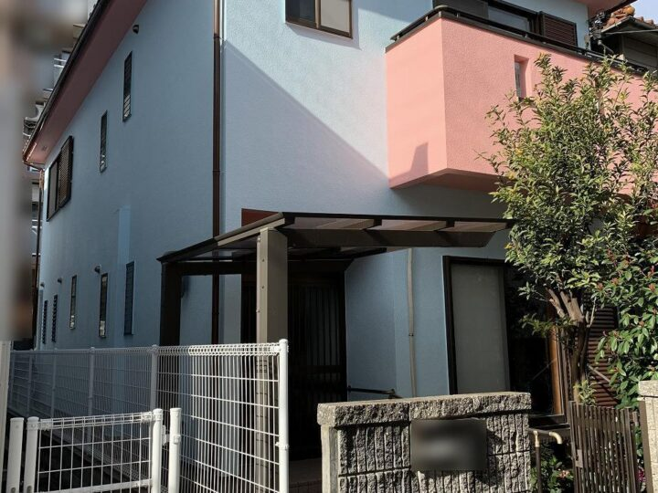芦屋市K様邸の外壁・屋根付帯塗装工事//兵庫・西宮・芦屋の外壁塗装・屋根塗装ならPaintWall