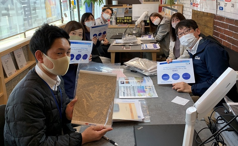 兵庫県、西宮市芦屋市の外壁屋根塗装ペイントウォールの塗料勉強会