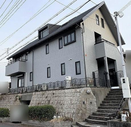 芦屋市T様邸の外壁・付帯塗装工事//兵庫・西宮・芦屋の外壁塗装・屋根塗装ならPaintWall