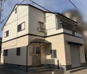 芦屋市M様邸の外壁・屋根付帯塗装工事 施工事例