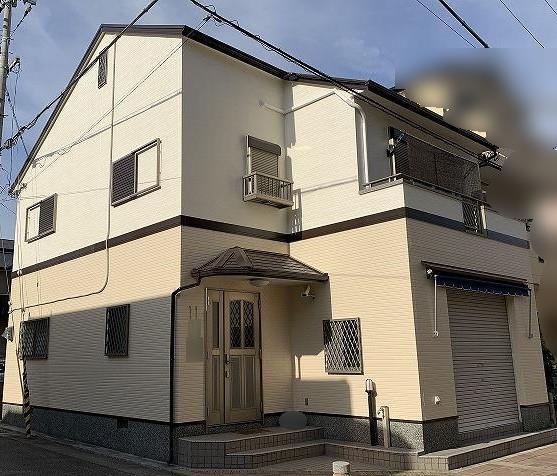 芦屋市M様邸の外壁・屋根付帯塗装工事//兵庫・西宮・芦屋の外壁塗装・屋根塗装ならPaintWall