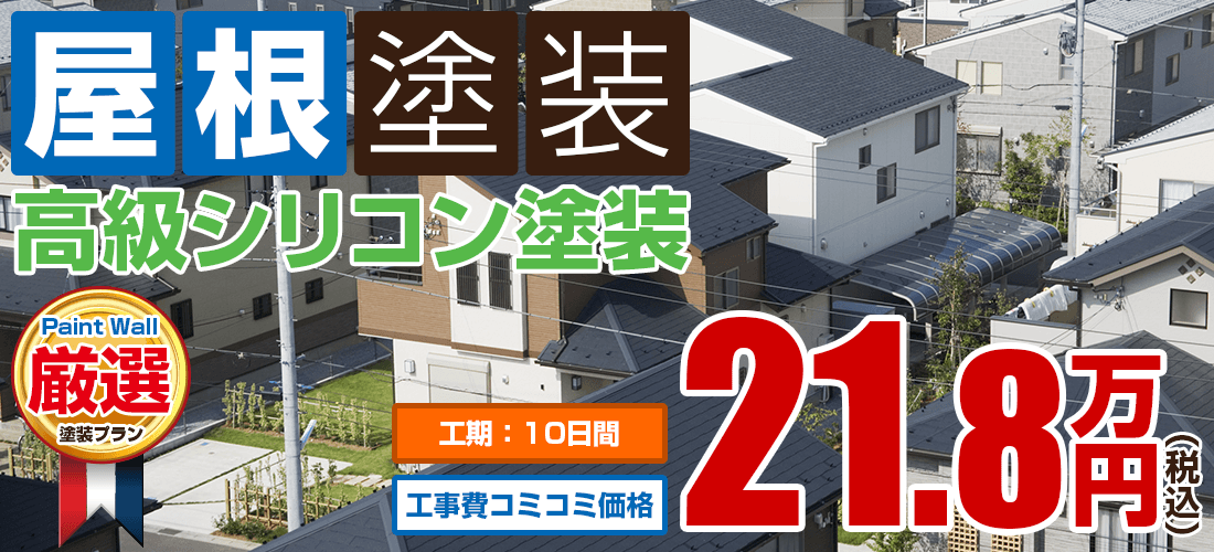 高級水系ナノシリコン塗装 21.8万円
