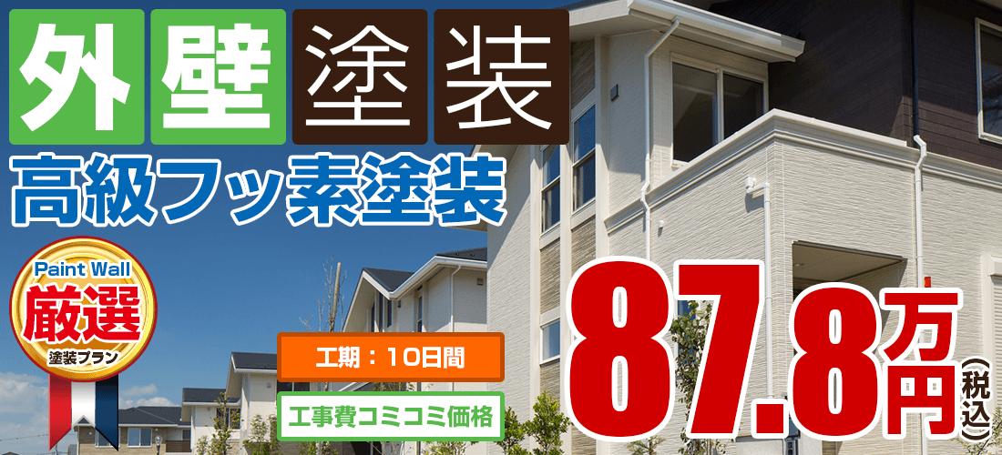 高級フッ素塗装 87.8万円