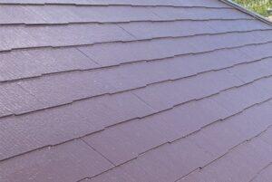 ペイントウォールの屋根施工後写真